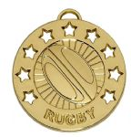 Rugby medal 40mm AM864